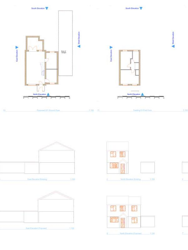 Pre-Planning Advice, Double Storey Side Extension, Grain